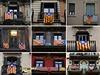 "Za nezávislost! ""Estelada"" neboli vlajka katalánské nezávislosti ozdobila u..."