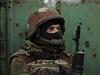 Ukrajinský dobrovolný voják drží pozici nedaleko Doněcka.