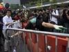 Před týdnem vyzvaly úřady demonstranty, aby okupovaná místa v centru města...