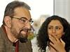 Indický herec Kabir Bedi, představitel seriálového hrdiny Sandokana, s...