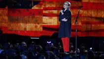 Na podporu válečných veteránů vystoupila i herečka Meryl Streep.