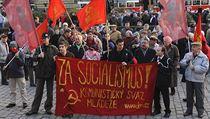 Po návratu starých �as� nevolají pouze jejich pam�tníci. Snímek z demonstrace... | na serveru Lidovky.cz | aktu�ln� zpr�vy