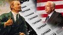 Vladimír Ilji� Lenin, noviny Pravda a John McCain | na serveru Lidovky.cz | aktu�ln� zpr�vy