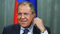 ��f rusk� diplomacie Sergej Lavrov.