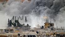 Boje o m�sto Kobani.