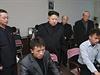 Kimův přísný pohled tentokrát mířil pod ruce animátorům.
