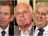 V�clav Havel, V�clav Klaus, Milo� Zeman. T�i hlavy st�tu, t�i r�zn� pojet�...