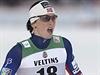 Vítězka. Norská běžkyně na lyžích Marit Bjorgenová.