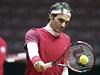 Roger Federer před finále Davis Cupu.