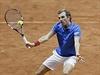 Finále tenisového Davisova poháru Francie - Švýcarsko: Francouzi Benneteau a...