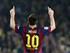 Lionel Messi slav� rekordn� g�l.