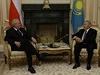 Prezident Miloš Zeman se sešel v Astaně s kazašským prezidentem Nursultanem...
