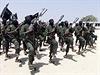Radikálové al-Šabáb při výcviku.