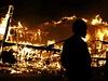 Ferguson hoří.