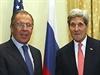 Šéf ruské diplomacie Sergej Lavrov přijel do Vídně v neděli, sešel se s...