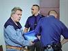 Líčení s lékařem Jaroslavem Bartákem u Krajského soudu v Liberci 12. listopadu