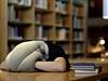 Originální pytel na hlavu, když přepadne v kanceláři či při studie spánek,...