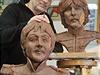Kolekci bust všech čtyř členů britské kapely Beatles dokončil pro soukromé...