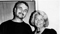 Heda Čechová se synem Vladimírem