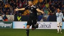 Gólová radost. Na snímku Karim Benzema.