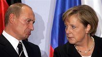 N�mecká kanclé�ka Angela Merkelová a ruský prezident Vladimir Putin. | na serveru Lidovky.cz | aktu�ln� zpr�vy