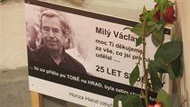 Oslavy 25. výro�í Sametové revoluce na Národní t�íd� | na serveru Lidovky.cz | aktu�ln� zpr�vy