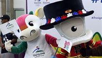 V Riu de Janeiru také se�ly maskoti, ti olympij�tí. | na serveru Lidovky.cz | aktu�ln� zpr�vy