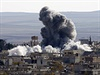 Výbuch v západní čtvrti Kobani