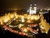 V sobotu se rozsvítil vánoční strom na pražském Staroměstském náměstí