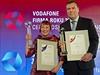 Živnostníkem roku se stala fyzioterapeutka Emílie Vallová (vlevo), hlavní...