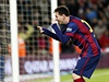 Lionel Messi oslavuje vst�elenou branku