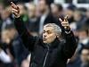 Rozladěný trenér Chelsea José Mourinho.