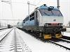 """Vlak v Drahotuších """"zamrzl"""" a dál už nejel."""
