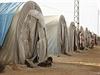 Uprchlick� t�bor v S�rii.