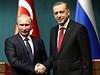 Minulost? Vladimir Putin (vlevo) s tureckým prezidentem Recepem Tayiipem...   na serveru Lidovky.cz   aktu�ln� zpr�vy