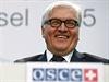 Německý minisrt zahraničí Frank-Walter Steinmeier na jednání OBSE v Basileji.