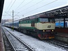 Na kolej�ch ��dila i legend�rn� bardotka, lokomotiva �ady 749.