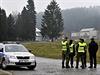 Z areálu vybuchlého muničního skladu ve Vrběticích, části obce Vlachovice na...