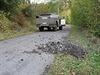 Policie hlídá sklad munice ve Vrběticích