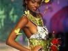 Na přehlídce Biofashion v kolumbijském městě Cali byly k vidění šaty z rostlin,...