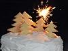 Oslavte Vánoce sněhobílým dortem