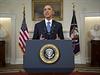 Americk� prezident Barack Obama a v�dce Kuby Ra�l Castro