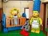 Simpsonovi jako jedna z mála značek pronikli i do světa známé stavebnice LEGO.