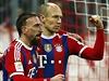 Radost fotbalist� Bayernu. Franck Ribéry (vlevo) a Arjen Robben.   na serveru Lidovky.cz   aktu�ln� zpr�vy