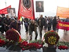 Oslavy Dne revoluce v b�lorusk�m Minsku - hlavn�m m�st� posledn� evropsk�...