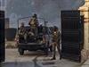 Pákistánští vojáci na místě útoku.