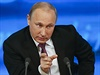 Tiskov� konference Vladimira Putina.