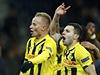 Renato Steffen (v popředí) právě stvrdil gólem na 2:0 vítězství Bernu nad...
