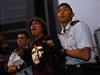 Policejní vyklízení hlavního tábora demonstrantů v Hongkongu