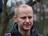 Mluvčí iniciativy Klinika Arnošt Novák na snímku pořízeném v neděli 14....